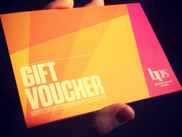 Pilates Gift Vouchers for sale